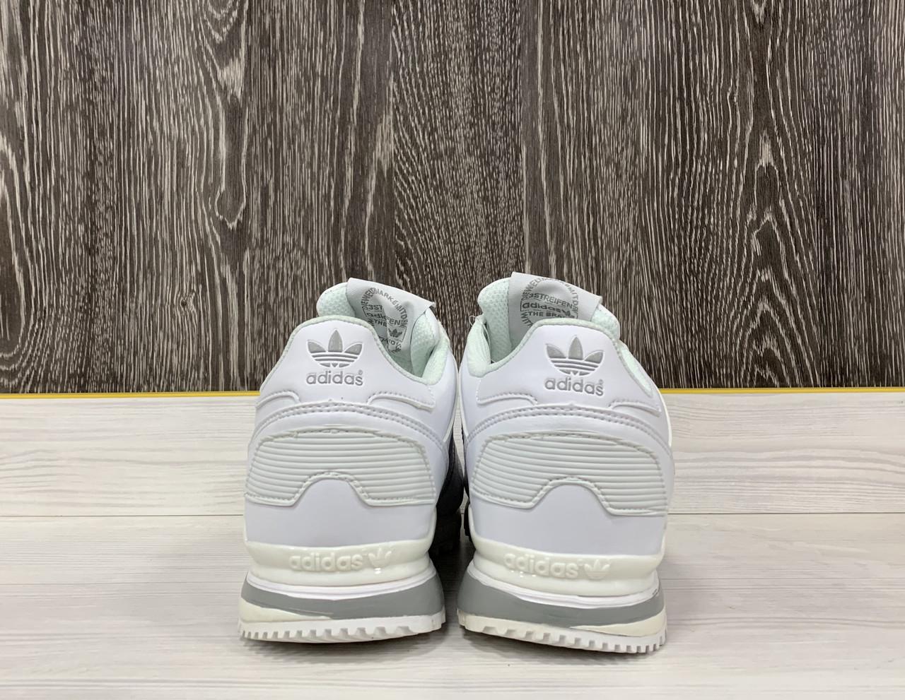 Кроссовки Adidas ZX 700 (White) - фото 5
