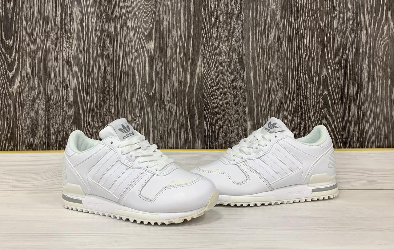 Кроссовки Adidas ZX 700 (White) - фото 3