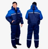 Костюм утепленный зимний водонепроницаемый. Куртка + полукомбинезон., фото 2