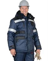 Костюм утепленный зимний ветрозащитный, масловодоотталкивающая пропитка. Куртка + комбинезон.