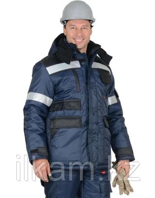 Костюм утепленный зимний ветрозащитный, масловодоотталкивающая пропитка. Куртка + комбинезон., фото 2