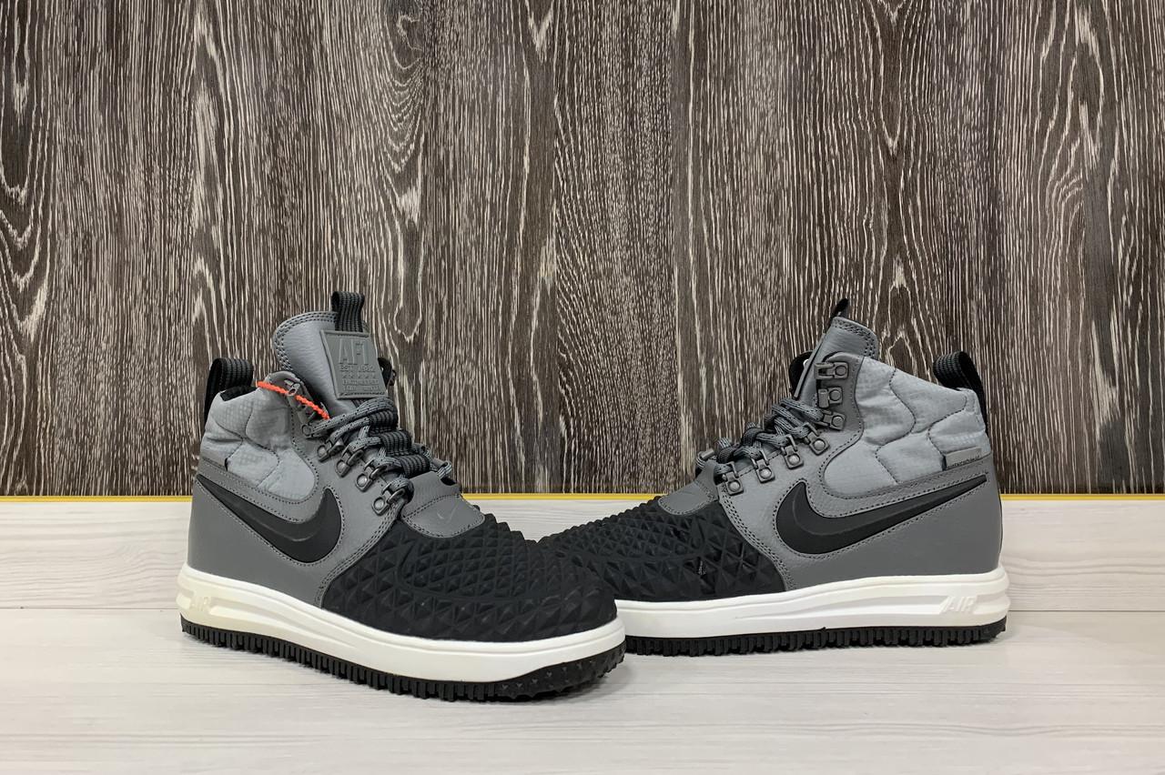 Кроссовки Nike Lunar Force 17 (Grey&Black)