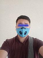 Респиратор двухклапановый (голубой)