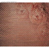"""Фотообои """"Красная кирпичная стена"""" 6-А-623 (2 полотна), 300x270 см"""