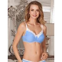 Бюстгальтер Marta для беременных и кормящих, цвет голубой, размер 75B