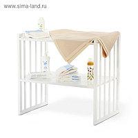 Нижняя полочка для пелен. стола для кроватки 6 в 1 MerryHappy, цвет белый