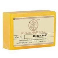 """Натуральное мыло """"Манго"""" Кхади (Mango Soap Khadi) 125 гр"""