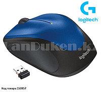 Компьютерная мышь беспроводная оптическая 1000 dpi USB Logitech M235 Wireless Mouse синий