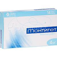 Монтигет / Таблетки жевательные / 5мг / № 14 / Getz Pharma Pvt. Ltd