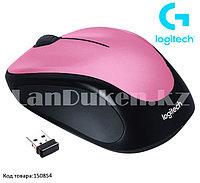 Компьютерная мышь беспроводная оптическая 1000 dpi USB Logitech M235 Wireless Mouse розовый