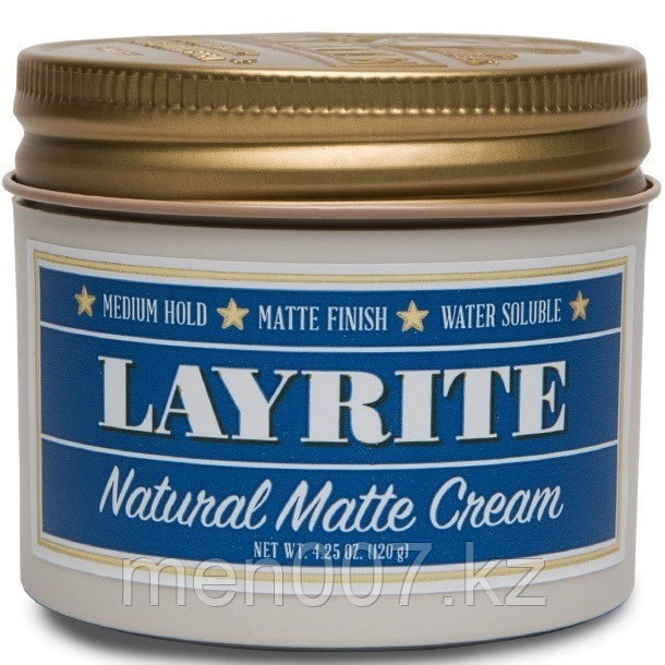 Layrite Natural Matte Cream (помада для укладки волос) 120 г.