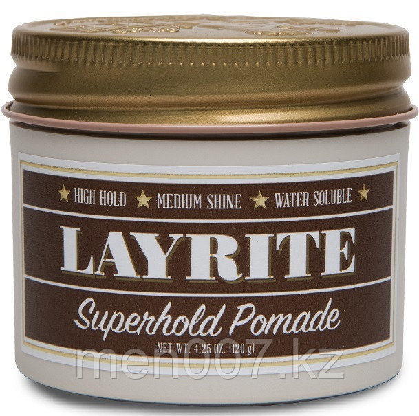 Layrite Superhold Pomade (помада для укладки волос) 120 г.