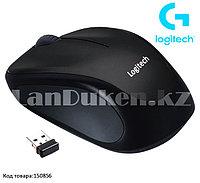 Компьютерная мышь беспроводная оптическая 1000 dpi USB Logitech M186 Wireless Mouse черный