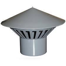 Зонт вентиляционный D50   ПП