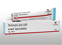 Третиноин гель от прыщей и морщин menarini tretinoin gel usp 0,025%