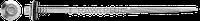 Саморез со сверлом 15 мм, органическое покрытие Delta Protekt KL101, с шайбой EPDM R-ONR-55/63141A19