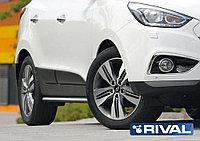 Hyundai Tucson /IX35 2010-2013-2015 Защита порогов d57