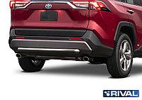 Toyota Rav 4 2019- Защита заднего бампера d57