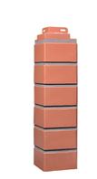 Угол наружный Керамический 485х119х119 мм  Дачные Клинкерный кирпич FINEBER