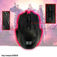 Беспроводная игровая мышь оптическая USB 6 кнопок 1600 dpi HP 2.4 GHZ Wreless mouse черная