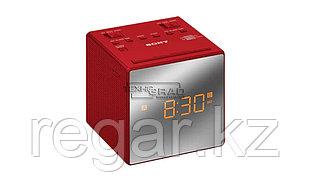 Радиобудильник Sony ICF-C1T, красный