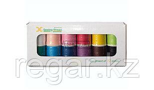 Нитки швейные Jaguar Thread Set 12 Color