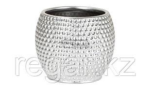 Горшок керамика NEW STYLE №1 PLATINUM SILVER 732/18 SCHEURICH