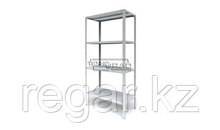 Стеллаж ST 200х100х60 4 полки/150 кг