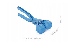 Снежколеп Snowballe, синий IKUL80 Prosperplast