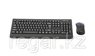 Комплект Клавиатура + Мышь Delux DLD-6091OGB