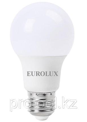 Лампа светодиодная LL-E-A60-9W-230-2,7K-E27 (груша, 9Вт, тепл., Е27) Eurolux, фото 2