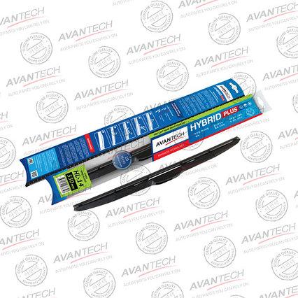 """Щетка стеклоочистителя Avantech """"Hybrid"""", гибридная, под крючок, 14"""" (35cм)"""
