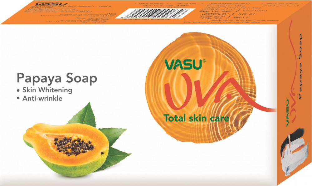 Мыло для лица омолаживающее c экстрактом папайи