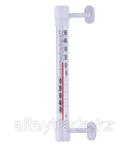 Термометр бытовой оконный ТБ-202 (-50...+50) ц.д.1, основание-пластмасса