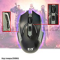 Беспроводная игровая мышь оптическая USB 6 кнопок 1600 dpi HP 2.4 GHZ Wreless mouse черно-серая