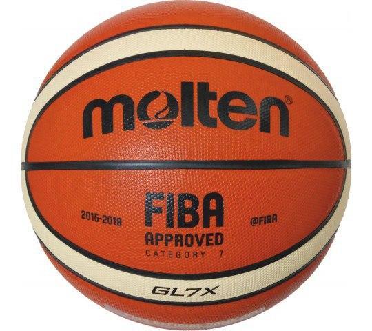 Мяч баскетбольный Molten GL7X