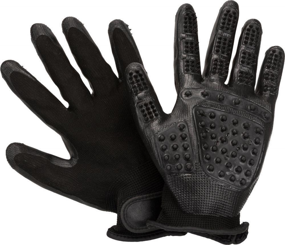 Перчатки Trixie для расчесывания животных, 1 пара (2 шт) - 16 × 23 cm