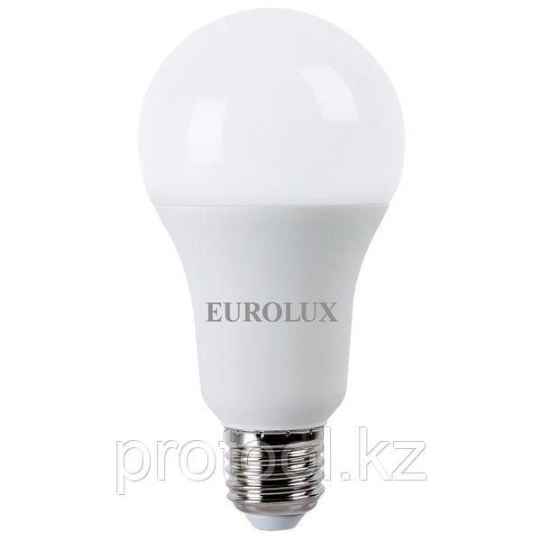 Лампа светодиодная LL-E-A70-20W-230-4K-E27 (груша, 20Вт, нейтр., Е27) Eurolux