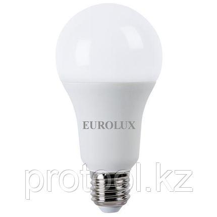 Лампа светодиодная LL-E-A70-20W-230-4K-E27 (груша, 20Вт, нейтр., Е27) Eurolux, фото 2