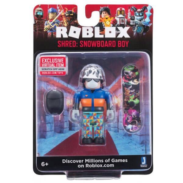 Roblox ROB0202 Фигурка героя Shred: Snowboard Boy (Core) с аксессуарами