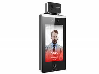 Hikvision DS-K1TA70MI-T терминал доступа с функцией распознавания лиц.