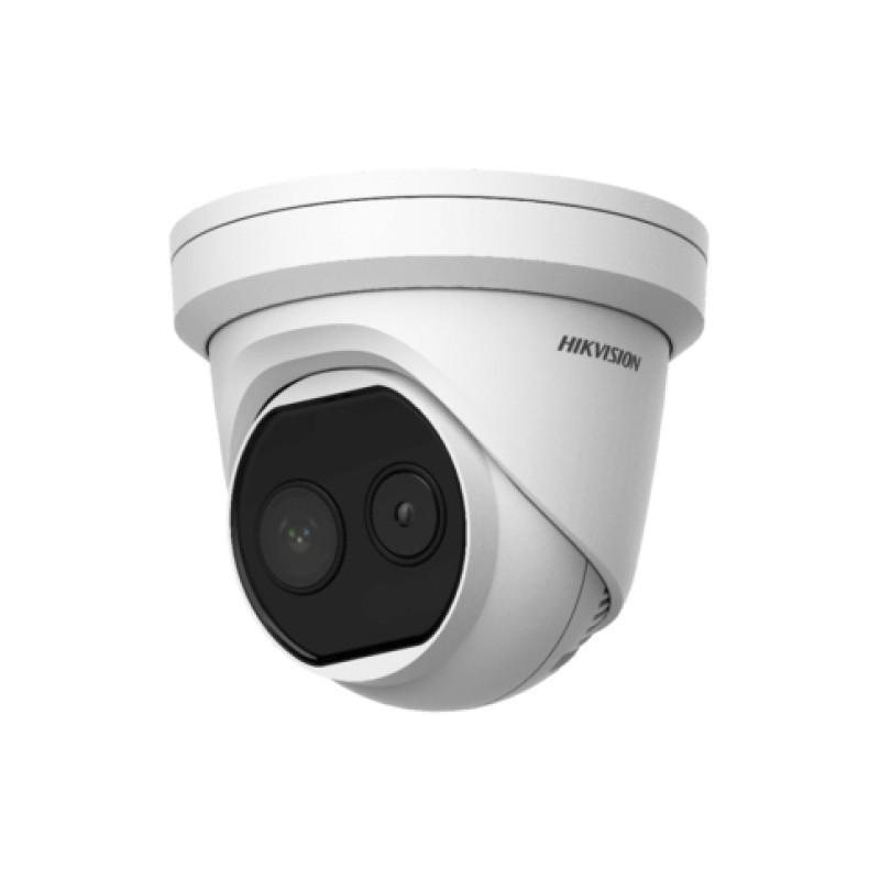 Hikvision DS-2TD1217B-6/PA Тепловизионная купольная IP-камера