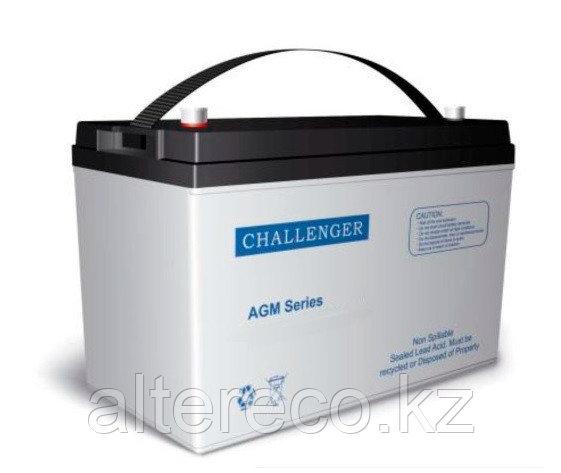 Тяговый аккумулятор Challenger EV12-75 (12В, 75Ач)