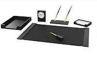 Настольный набор 6 предметов Bestar черный