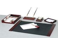 Настольный набор 6 предметов Bestar махагон