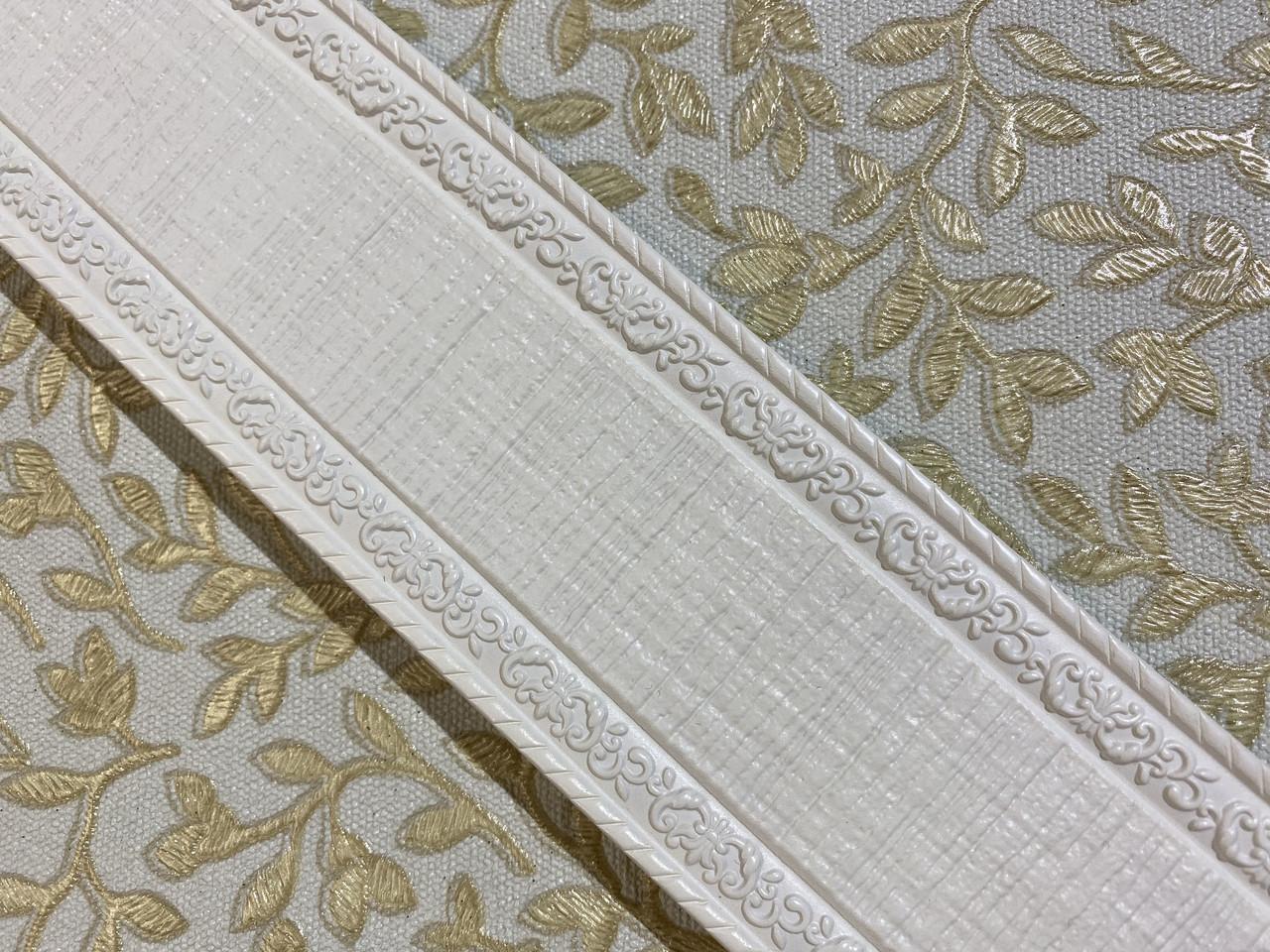 Полиуретановые молдинги Plate E-60 Pure White 60*9