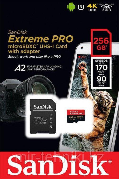Карта памяти SanDisk Extreme Pro microSDXC UHS-I 256GB 170MB/s