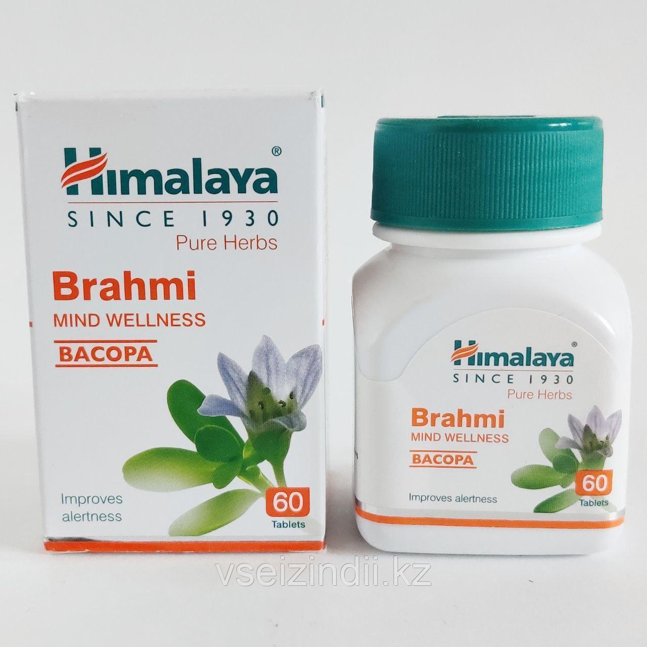 Брахми/Брами, Гималаи (Brahmi, Himalaya). Укрепление памяти, 60 таблеток