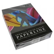 Бумага цветная PAPERLINE цвет BLACK/черный, А4, 80 гр/м2, 500 листов