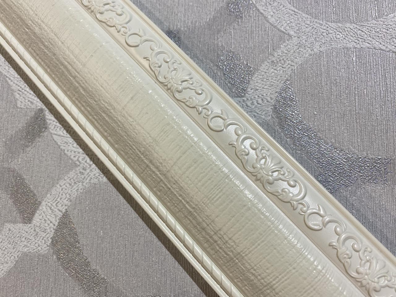 Полиуретановые молдинги Door Frame E-02 Pure White 65*18